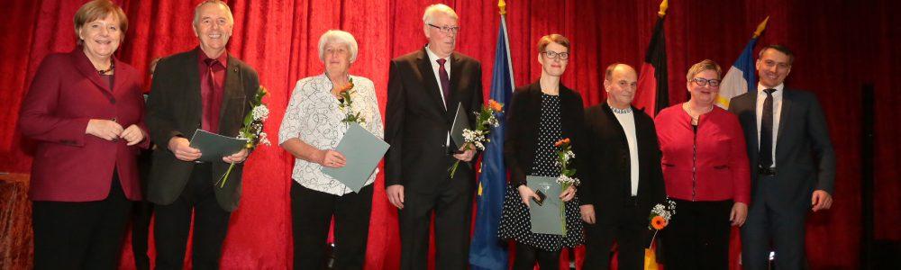 Ehrenamtspreis des Landkreises 2018