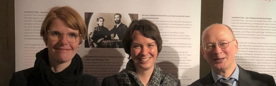 Ausstellung zu Leonhard Tietz eröffnet