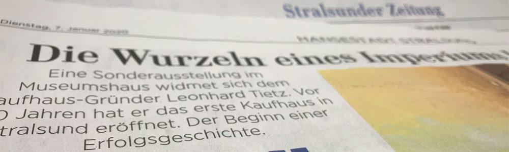 Ostsee-Zeitung berichtet