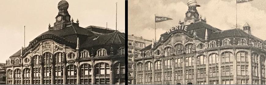 Hermann Tietz, HERTIE, die Hertie Stiftung und Her.Tietz